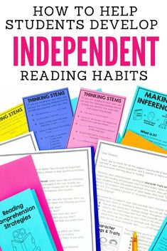 Independent reading time is a must have for our students if we want them to grow into confident, independent, successful readers... but it can also feel overwhelming to do effectively... and at times independent reading can feel like a big waste of time. In this training, I discuss why independent reading time is essential, how to build good habits during independent reading time and my favorite tools for keeping students accountable during independent reading time. Teaching 5th Grade, 5th Grade Reading, Student Reading, Help Teaching, Teaching Reading, Guided Reading, Reading Time, Reading Resources, Reading Strategies