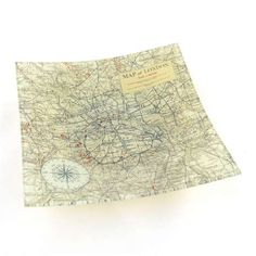 Mirror world map stick glass d decorations pinterest dunelm glass plate with map print sciox Image collections