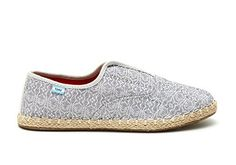 TOMS GREY TRIBAL WOMENS PALMERA SLIPONS 10 M *** Continue to the product at the image link. Note:It is Affiliate Link to Amazon.