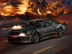 Exclusive Mustang from the movie Death Race