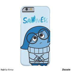 Inside Out - Sigh Barely There iPhone 6 Case. Regalos, Gifts. #carcasas #cases