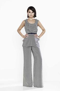 Miroslava Duma wears the pants! #OSCARxTHEOUTNET