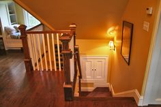 SLR Architecture - Stairs to the new attic space for the kids.