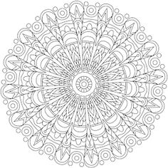 Rebellious Heart Mandala Coloring Page By Varda K. Geometric Coloring Pages, Heart Coloring Pages, Mandala Coloring Pages, Free Coloring Pages, Coloring Sheets, Coloring Books, Printable Adult Coloring Pages, Mandala Drawing, Doodle Patterns