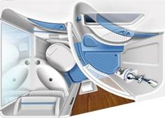 interni camper,design industriale,progettazione,engineering