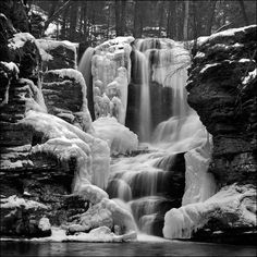 Falls in winter.