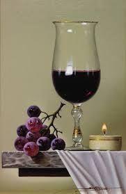 Resultado de imagen para javier mulio Wine Bottle Glasses, Hyper Realistic Paintings, Art Folder, Fruit Painting, Spanish Artists, Color Pencil Art, Realism Art, Art Techniques, Watercolor Flowers