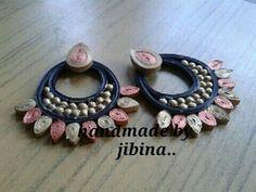 quilled ramleela earrings