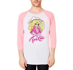 Trixie Mattel Boyfriend Baseball T-Shirt, $30, Medium