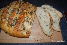 Tökmagos rozsos kenyér | Betty hobbi konyhája Pizza, Bread, Food, Brot, Essen, Baking, Meals, Breads, Buns
