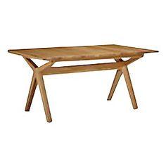 Bethan Gray for John Lewis Noah Extending Dining Table, W200-255cm £1,200