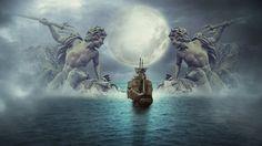 Photoshop tutorial  | Adventure in sea fantasy photo manipulation
