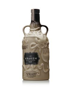 Awesomely silly bottle, i love it. Kraken Ceramic Limited Edition Black Spiced Rum 70 cl