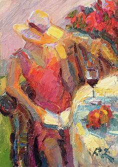 Diane Leonard | Plein Air Impressionist painter | VideoArt | Tutt'Art@ | Pittura • Scultura • Poesia • Musica
