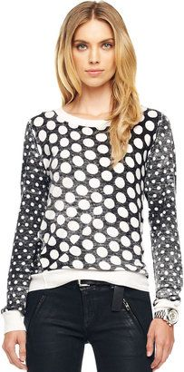 ShopStyle: MICHAEL Michael KorsDotted Knit Pullover