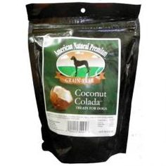 Coconut Coloda Dog Treats by American Natural Premium - This super tasty treat contains healthy coconut that is super helpful for dog's digestions and coat.  They are even grain free!  $7.99 #twobostons #americannaturalpremium