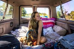 Road trip to #newyork #newyorkcity with the #van was amazing. Especially with @roxybrault and her beautiful #smile. #vanlife #queensny #vanconversion #forde350 #vandwelling #vaninterior