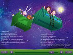 Lauras Stern und die Traummonster. iPad Kinderbuch App