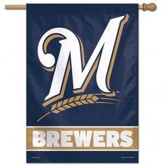 ~Milwaukee Brewers Banner 28x40 Vertical~ backorder