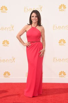 #Emmys Best Dressed List:  Julia Louis-Dreyfus in a Carolina Herrera. #redcarpet