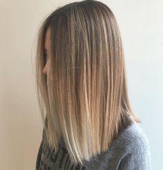 Shoulder Length Ombre Hair For Spring & Summer 2017