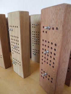Calendario perpetuo de madera montaje en por EventailMenuiserie