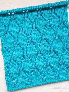 Lace Stitch Knitting Pattern Lace Knitting Patterns, Knitting Stitches, Free Knitting, Stitch Patterns, Sts 1, Potpourri, Knit Crochet, Blanket, Squares