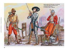 Gerry y Sam Embleton - Portugueses en la batalla de Alcazarquivir (Al-Qaṣr Al-Kabīr), 1578