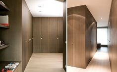 WILFRA Interior Design - Architect Marc Corbiau - Closet