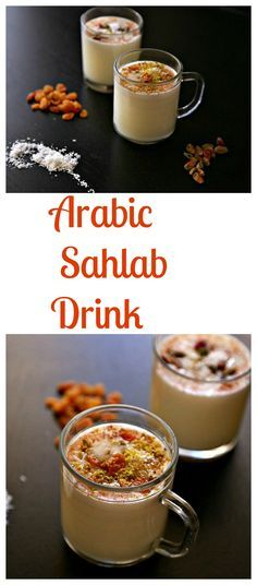 """An easy to make unique milky drink """"Sahlab"""" that is healthy and flavorsome. Surprise your family/friends this weekend, and stay warm this winter!"""