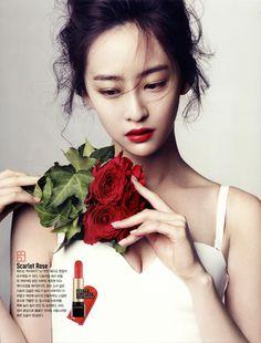 * Dasom * LipStick: http://www.lancome.co.uk/makeup/lips/lipstick/l-absolu-rouge/A00114-LAC.html