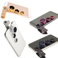 I think you'll like Universal 3 In 1 Clip-on Fish Eye Macro Wide Angle Mobile Phone Lens Camera kit for iPhone 4 5 6 Samsung S4 S5 note2 3. Add it to your wishlist!  http://www.wish.com/geek/m/c/554d6695168176197310292f