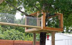The Cat Carpenter Treehouse Catio