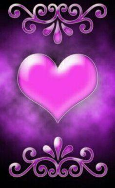 Purple and Pink Heart Wallpaper Heart Wallpaper Hd, Flowery Wallpaper, Love Wallpaper, Cellphone Wallpaper, Wallpaper Backgrounds, Holiday Wallpaper, Phone Backgrounds, Iphone Wallpapers, Image Symbols