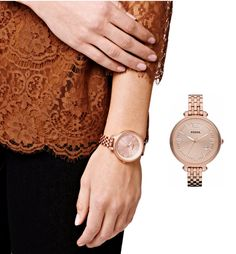 Fossil Watch , Rose Gold Watches for Women - Fashion Trends Magazine