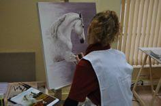 Boletín enero 2014 pintando en la academia http://nuriafernandez.es/boletin-enero-2014/