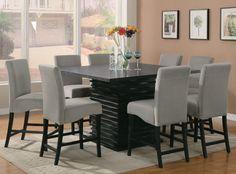 Jordana 9-Piece Counter Height Dining Set