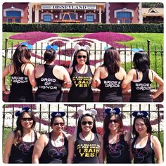 Star Wars themed bachelorette party in Disneyland