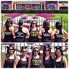 Star Wars themed bachelorette party in Disneyland