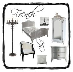 """""""Shabby Chic"""" by serendipityhome ❤ liked on Polyvore featuring interior, interiors, interior design, home, home decor and interior decorating"""