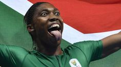 South Africa's Caster Semenya wins Olympic gold in the 800m as Great Britain's Lynsey Sharp comes sixth.