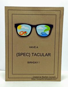 ~ Marilyn's Crafts ~: Spectacular Birthday