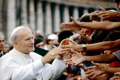 Mother Teresa, Mother Mary, Pope John Paul Ii, Paul 2, Papa Juan Pablo Ii, Catholic Beliefs, Pope Francis, Religious Art, St John Paul Ii