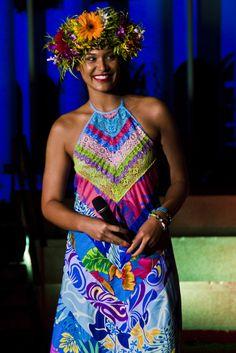 Hinarere Taputu Miss Tahiti 2014 #EarthHour #Tahiti 2015 Ambassador