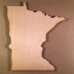 MN Minnesota Wood Cutouts  Shapes for Projects by siglaserdesigns