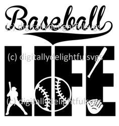 Baseball Life svg