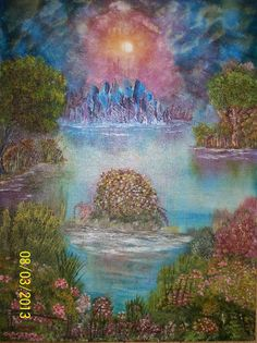 Night Reflections by Josephine Wall