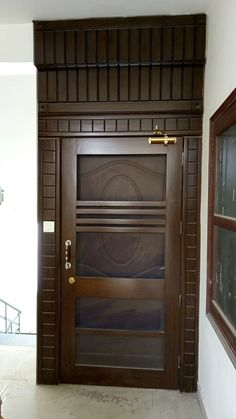 Tell me about this Flush Door Design, Front Door Design Wood, Main Entrance Door Design, Grill Door Design, Door Gate Design, Room Door Design, Door Design Interior, Wood Front Doors, Wooden Door Design