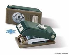Snowflake Mini Pocket Punch-WSL from Creative Memories Scrapbook Supplies, Scrapbook Cards, Pocket Scrapbooking, Scrapbooking Ideas, Paper Trail, Old Love, Creative Memories, Lost Art, Tool Organization