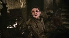 After years of speculation, we learn that Arya Stark killed the Night King in Game of Thrones Season 8 Episode 3 with Littlefinger's dagger. Game Of Thrones Saison, Game Of Thrones Episodes, Game Of Thrones Facts, Kit Harington, Maisie Williams, Arya Stark, Joe Dempsie, John Simm, Isaac Hempstead Wright